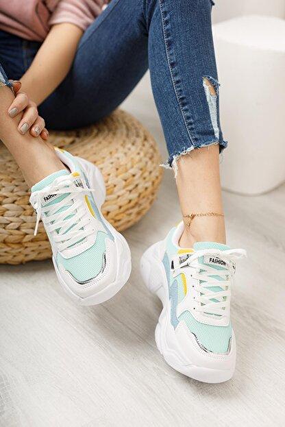 Moda Frato Topuklu Kadın Spor Ayakkabı
