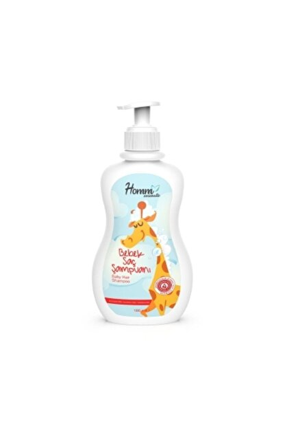Homm Bitkisel Bebek Şampuanı Bitkisel 180 ml