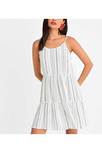 OXİJEN GİYİM Askılı Elbise