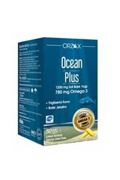 Orzax Ocean Plus Omega 3 1200 Mg 50 Kapsül