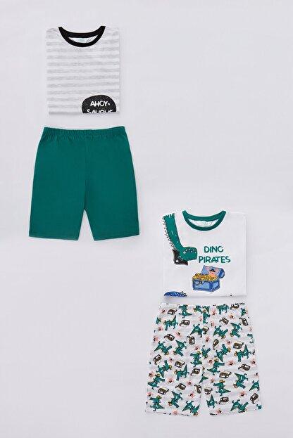 Penti Çok Renkli  Pijama Takımı 4lu
