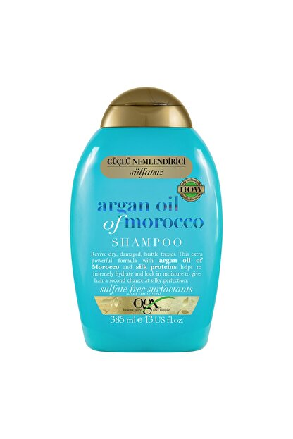 OGX Extra Güçlü Nemlendirici ve Canlandırıcı Argan Oil of Morocco Sülfatsız Şampuan 385 ml