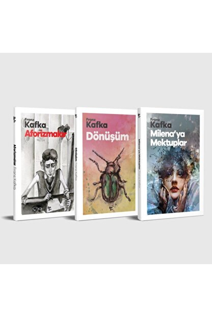 Halk Kitabevi Franz Kafka Unutulmaz Eserleri Seti - 3 Kitap