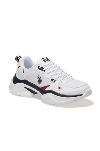US Polo Assn GAL TEX Beyaz Kadın Sneaker Ayakkabı 100604856