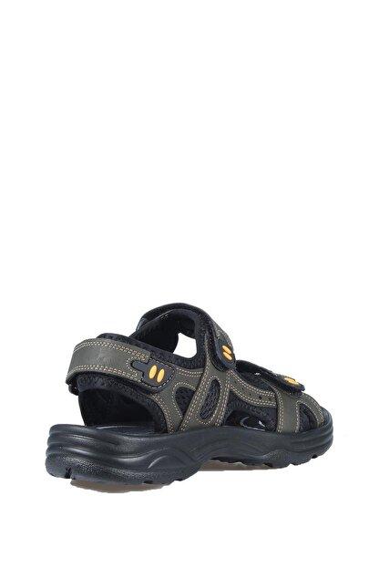 Castle Black Unisez Haki Cırtbantlı Sandalet K-3