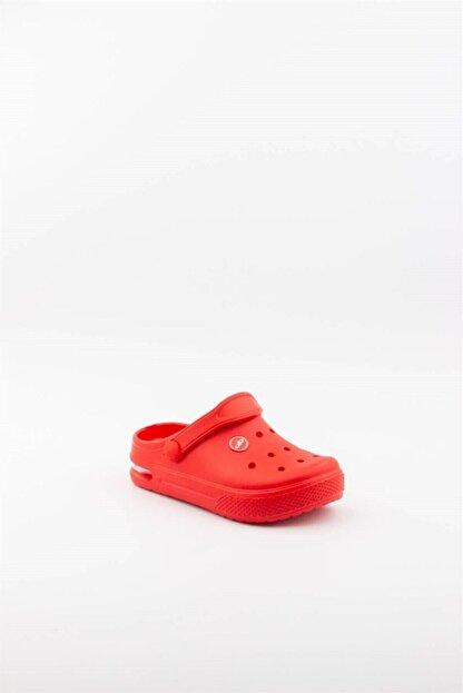 Akınalbella Unisex Çocuk Kırmızı  Işıklı Terlik
