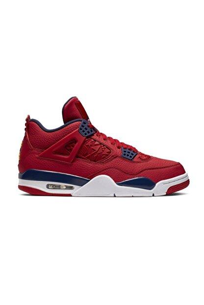 Nike Erkek Kırmızı Air Jordan 4 Retro Se Cı1184-617 Basketbol Ayakkabısı