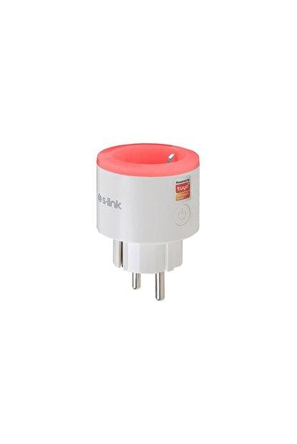 S-Link Swapp Sl-03 16a Akım Korumalı Akıllı Priz Rgb Işıklı 2.4 G Wifi Tuya Destekli