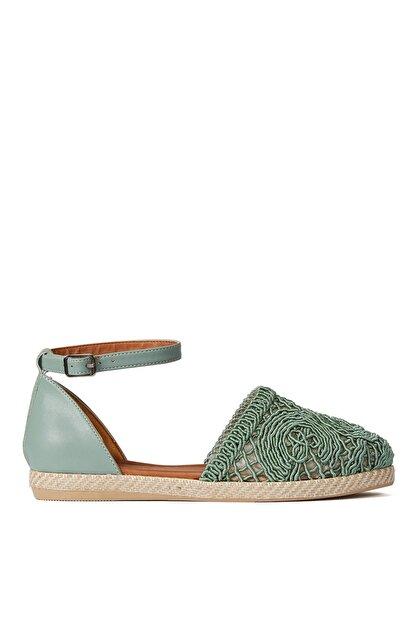 Sole Sisters Düz Sandalet Mint - Magura