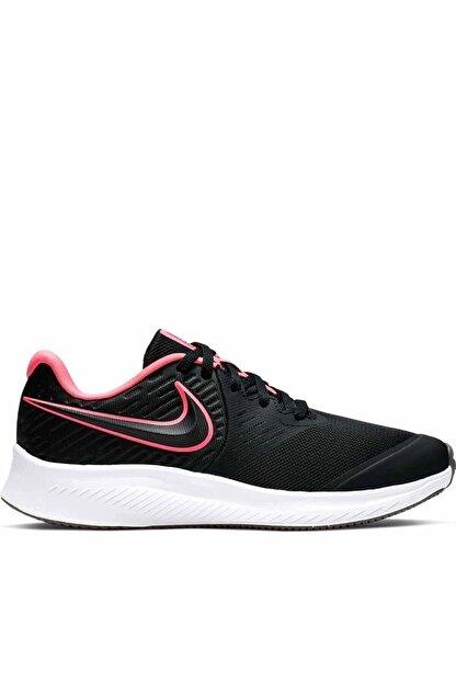 Nike Kadın Siyah Spor Ayakkabı Aq3542-002