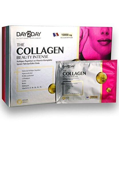 DAY2DAY Day 2 Day The Collagen Beauty Intense Çilek Aromalı 30 Şase 10000 Mg Kollajen Peptitleri