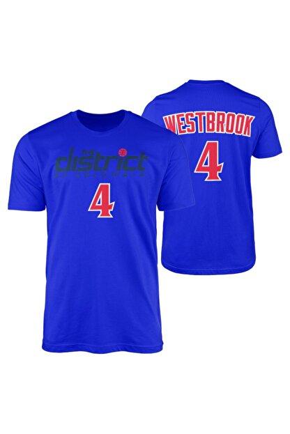 NSJ SPORTIVE Russell Westbrook Mavi Forma Tshirt