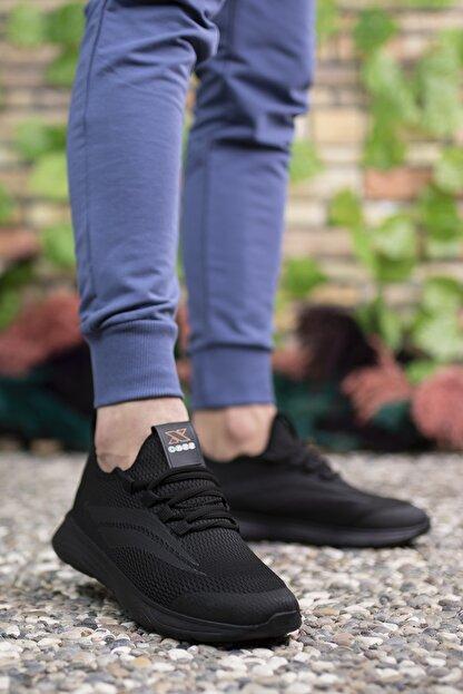 Riccon Unisex Siyah Sneaker 001202