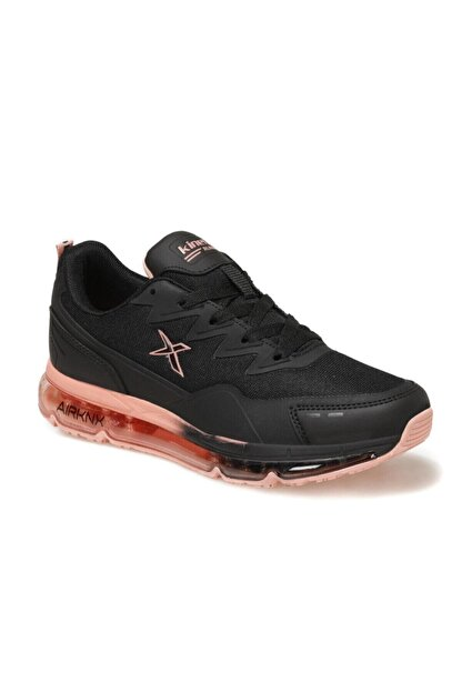 Kinetix Kadın Sneaker Spor Ayakkabı Siyah-narçiçeği Sabion W