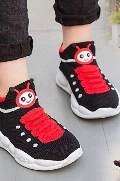 Db Kids Erkek Çocuk Siyah Ortopedik Hafif Yumuşak Spor Ayakkabı B098