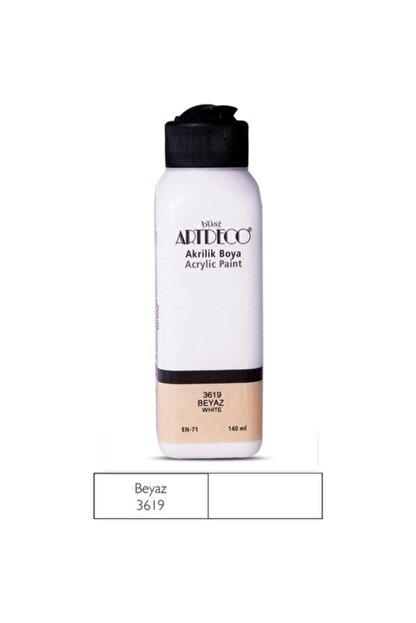 Artdeco Beyaz Akrilik Boya 140 ml
