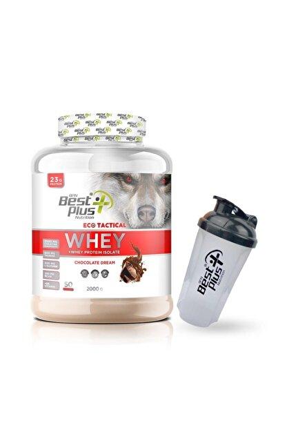 BPN Eco Tactical Whey Çikolatalı Protein Tozu 2000 gr
