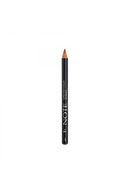 Note Cosmetics Ultra Rich Color Lip Pencil 01