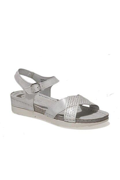 Polaris 161975.Z1FX Gri Kadın Sandalet 101020065