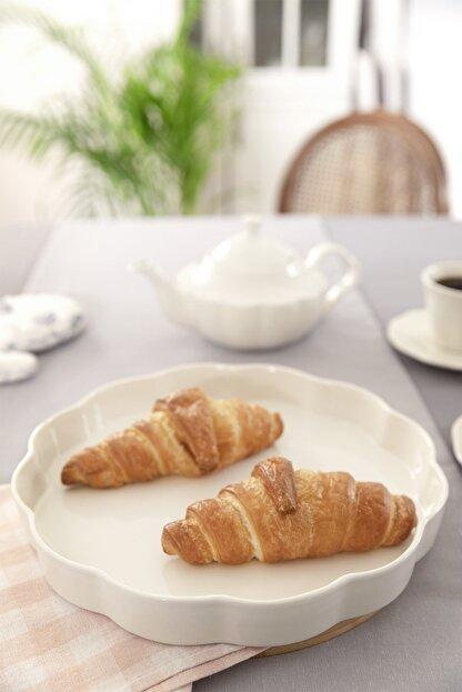English Home Viyana Porselen Fırın Kabı 30 Cm Açık Krem