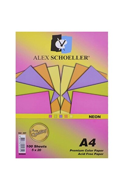 Schoellershammer Alx-837/820 Renkli Fotokopi Kağıdı