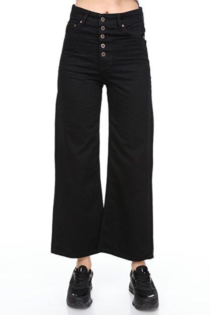 Sismo Butik Yüksek Bel Wide Leg Jeans