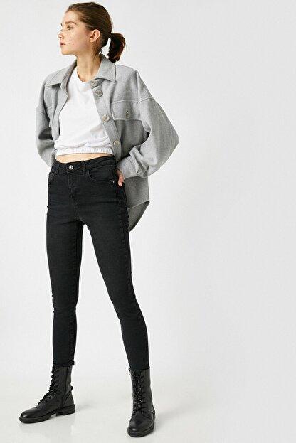 Koton Kadın Siyah Jeans 1KAK47629MD