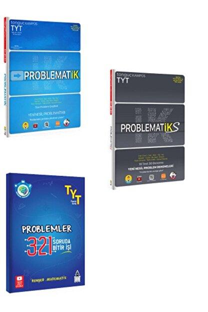 Tonguç Akademi Problematik 321 321 Rehber Matematik Problemler Ve Problematiks 3'lü Set