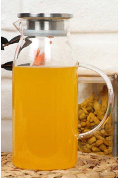 Arow - Dubai Gusto Metal Kapaklı Cam Sürahi 1600 ml