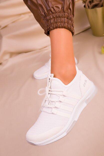 Soho Exclusive Beyaz Kadın Sneaker 16278