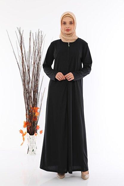 medipek Kadın Fermuralı Namaz Elbisesi Ferace