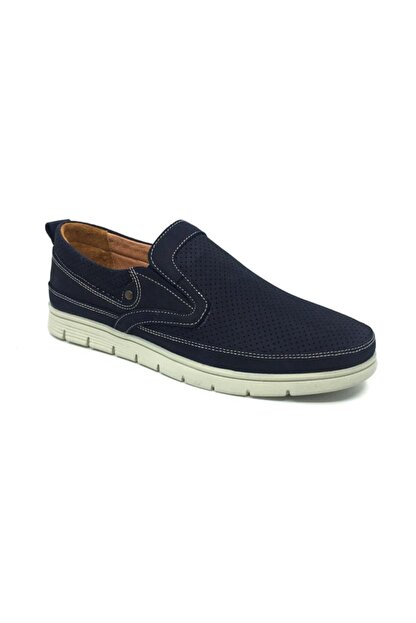 Taşpınar Saygıner %100 Deri Yazlık Rahat Erkek Günlük Comfort Rok Ayakkabı 40-45