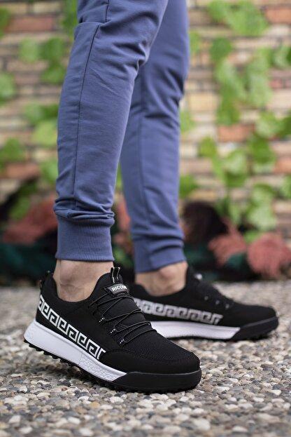 Riccon Siyah Beyaz Unisex Sneaker 00125052