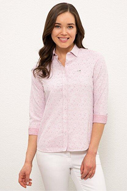 US Polo Assn Kırmızı Kadın Gömlek G082SZ004.000.1268469