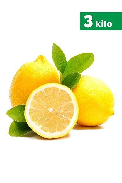 TROPİK SEPETİ Antalya Limonu - 3 Kg