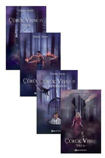 Epsilon Yayınları Çürük Vişne Serisi 4 Kitap Set Emine Tavuz