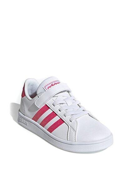 adidas GRAND COURT Beyaz Kız Çocuk Sneaker Ayakkabı 100532230