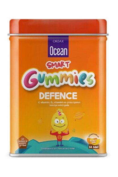 Ocean Smart Gummies Defence C Vitamini , D3 Vitamini Ve Çinko Içeren Takviye Edici Gıda 64 Jel Tablet