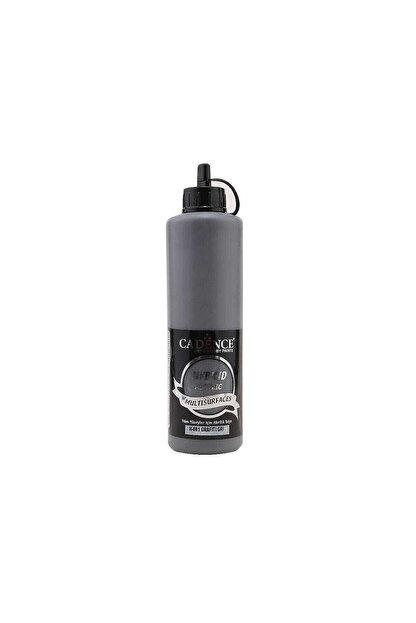 Cadence Boya Hybrid Multisurface Akrilik Boya 500 ml. H-081 Grafiti Gri