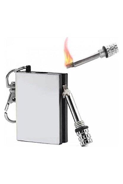 Zippo Metal Kibrit Çakmak Benzinle Çalışan
