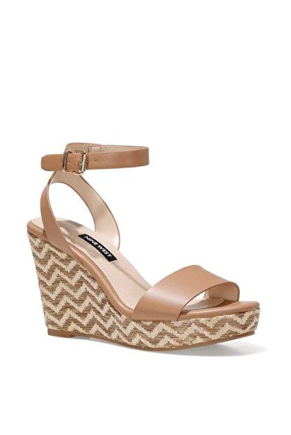 Nine West OBASA 1FX Taba Kadın Dolgu Topuklu Sandalet 101008608
