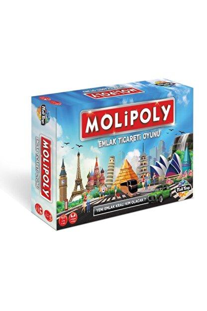Kupa Yeni Molipoly Emlak Ticaret Oyunu, (monopoly Tarzı) Mega City Aile Oyunu Yeni Model