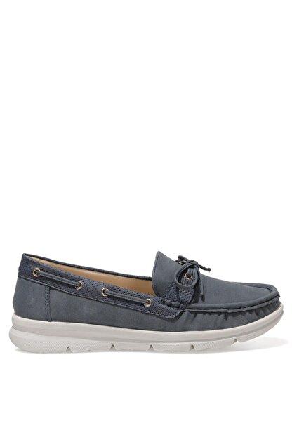 Nine West MARIO 1FX Lacivert Kadın Loafer Ayakkabı 101008454