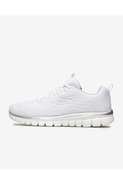 Skechers GRACEFUL-GET CONNECTED Beyaz Kadın Yürüyüş Ayakkabısı 100353423