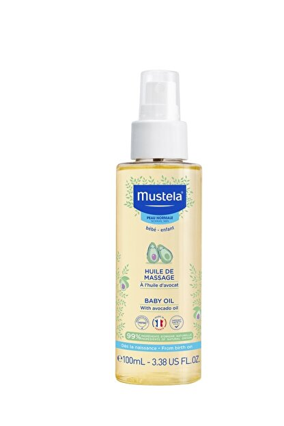 Mustela Massage Oil - Bebek Masaj Yağı 100 ml