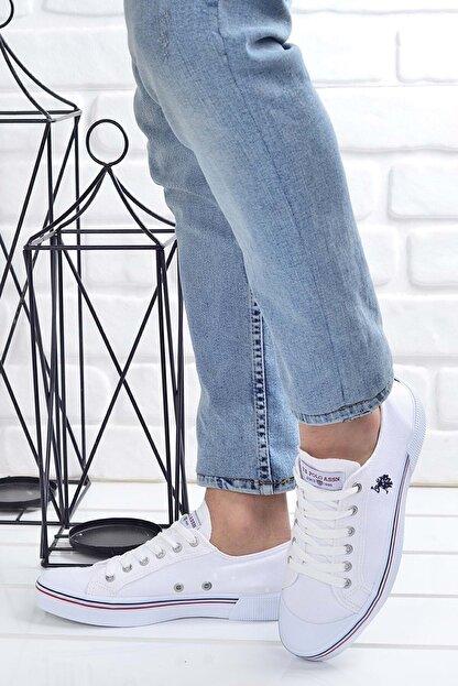 US Polo Assn PENELOPE 1FX Beyaz Erkek Sneaker Ayakkabı 101006272