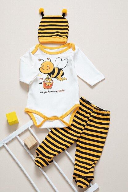 BabyLife Kız Bebek Takım 0365