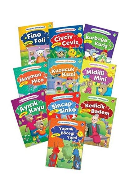 Timaş Çocuk Hikayelerle Dini Değerler Set 10 Kitap Takım