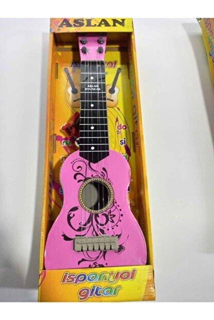 Sezginpazar Aslan Toys 50 Cm Oyuncak Ispanyol Gitar Gercek Telli
