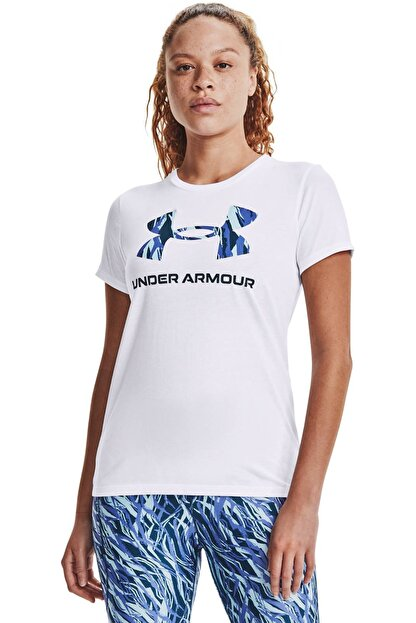 Under Armour Kadın Spor T-Shirt - Live Sportstyle Graphic SSC - 1356305-104